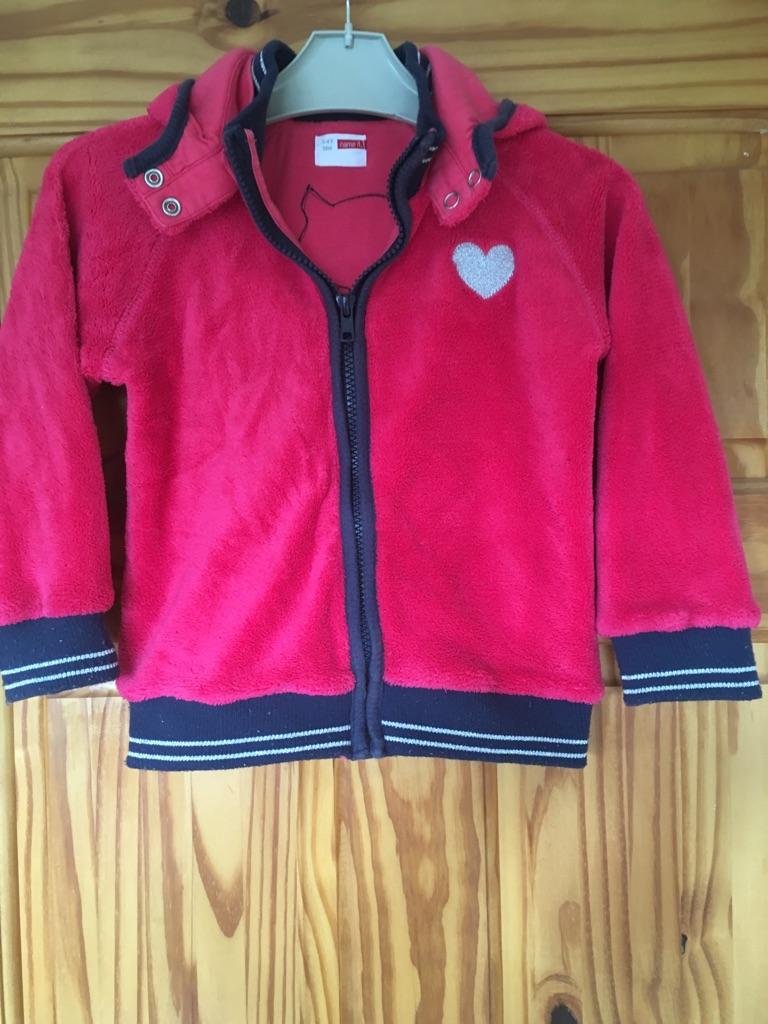 Girls name it fleece coat