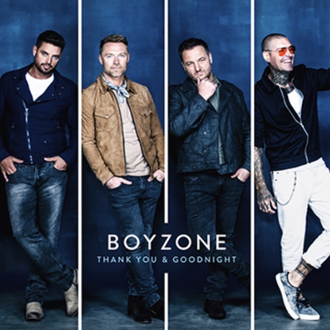 Boyzone farewell tour tickets 7th feb at the o2