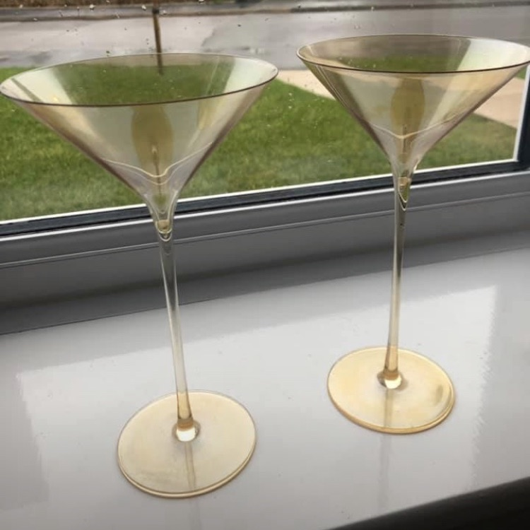 John Lewis cocktail glasses