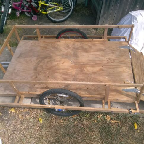3x5 bicycle cargo trailer $ or trade