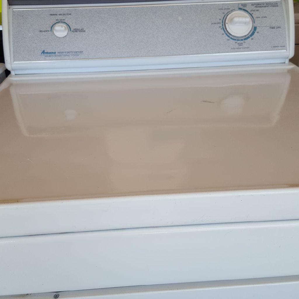 AMANA heavy duty dryer