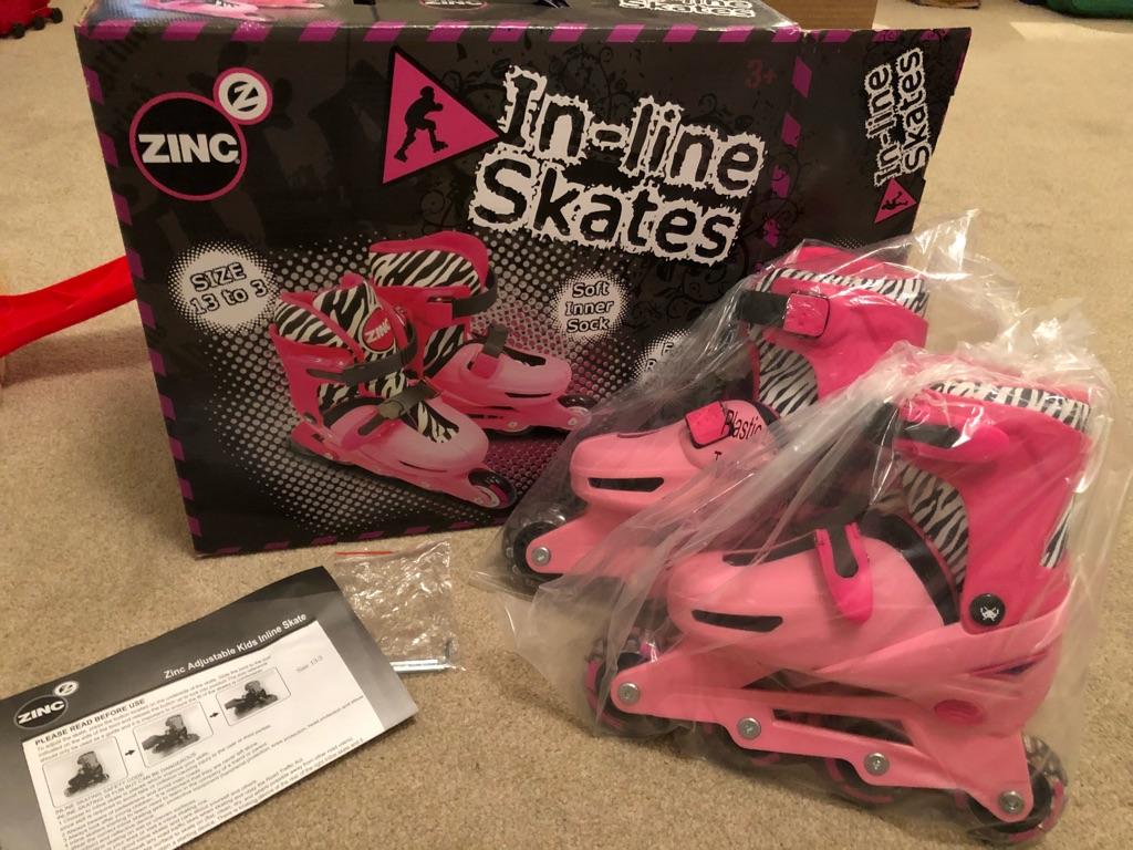 In line skates / roller blades size 13-3