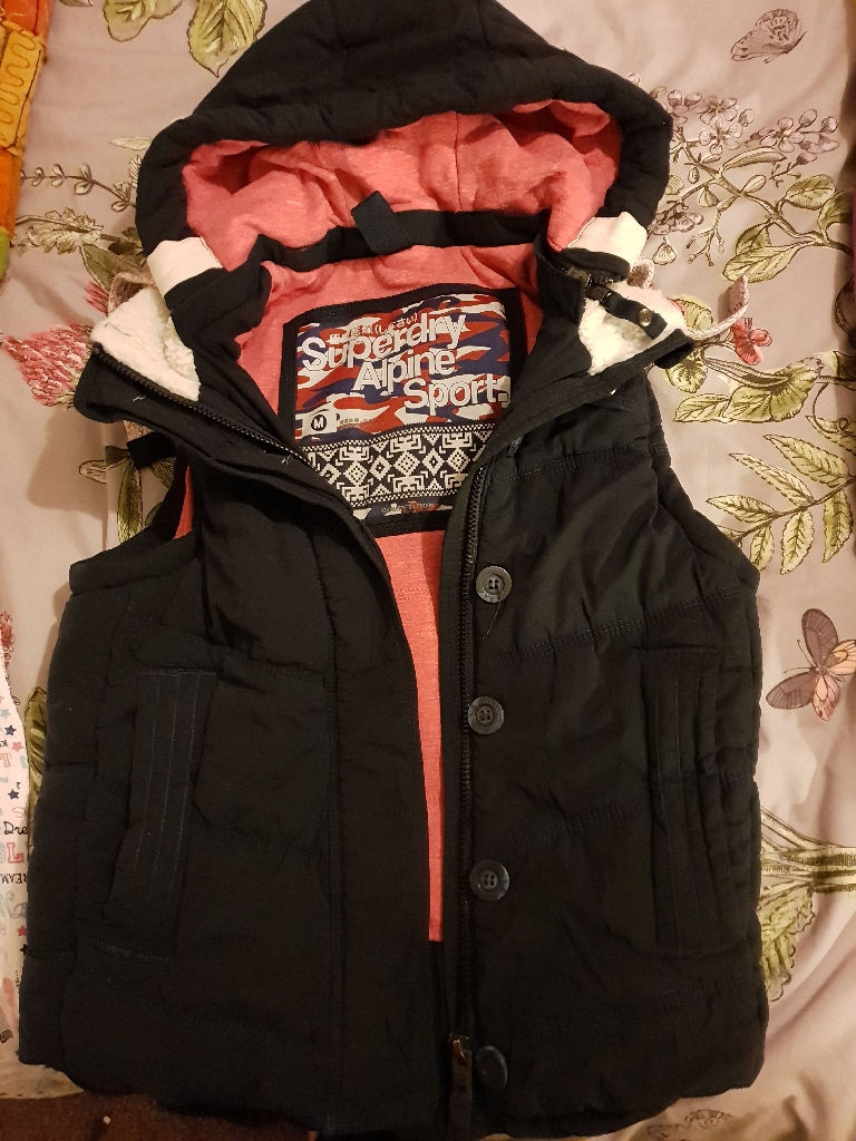 Genuine Superdry body warmer