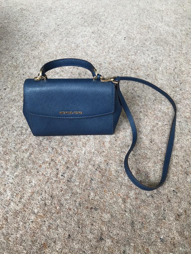 Michael Kors navy blue bag / purse