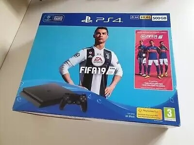 Sony PlayStation 4 500GB FIFA 19 Console Bundle Fifa 19 - **NEW & SEALED!**