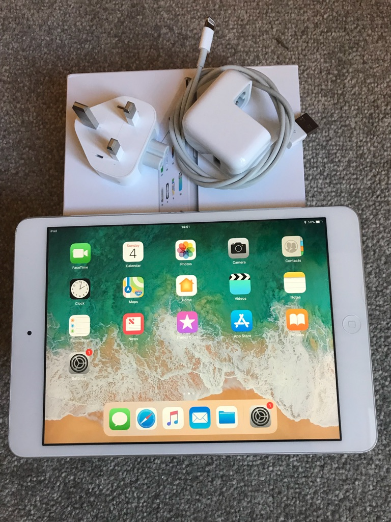 iPad mini 2, 16GB - silver