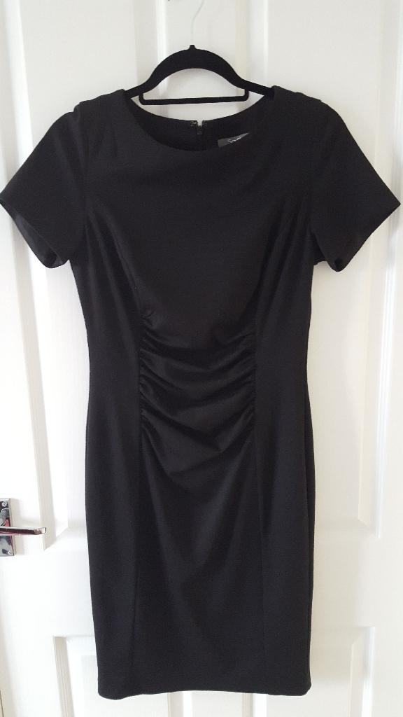South black lined dress
