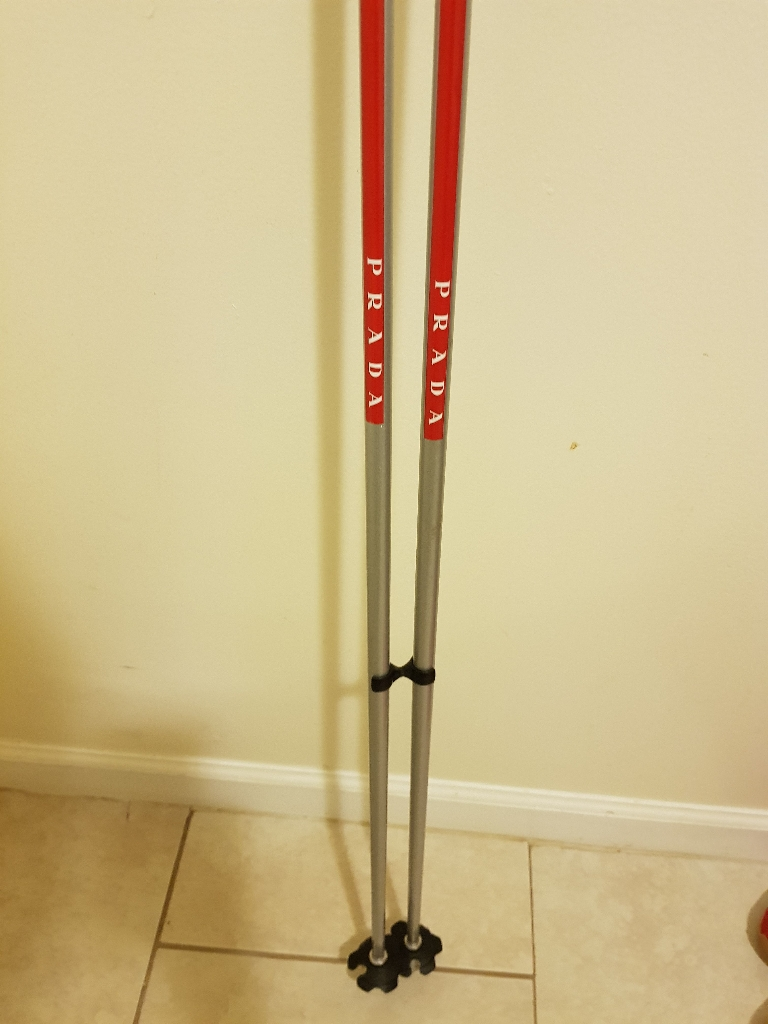 Rare Prada Ski poles