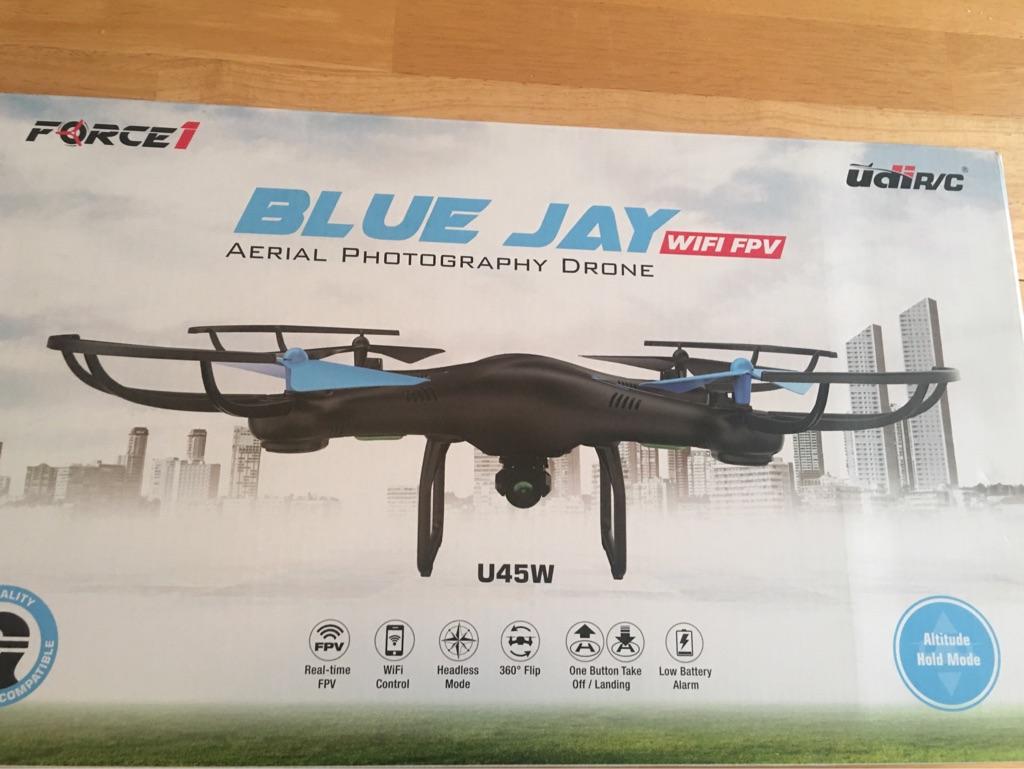 UDI R/C blue jay drone
