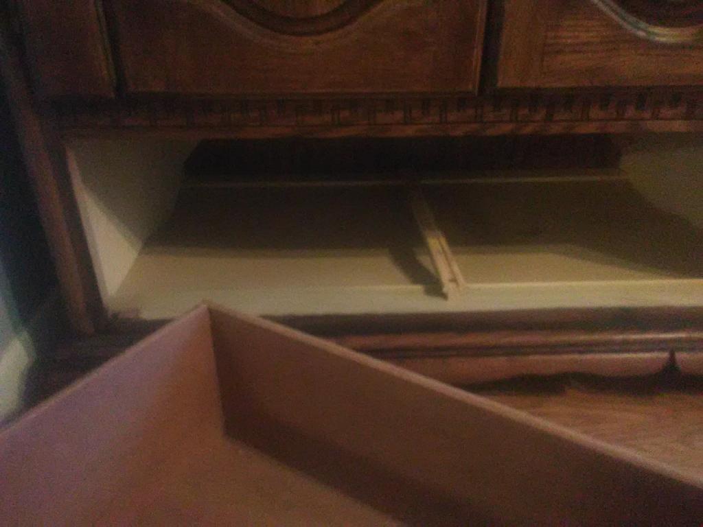 Vintage entertainment cabinet