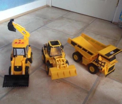 3 set truck toys