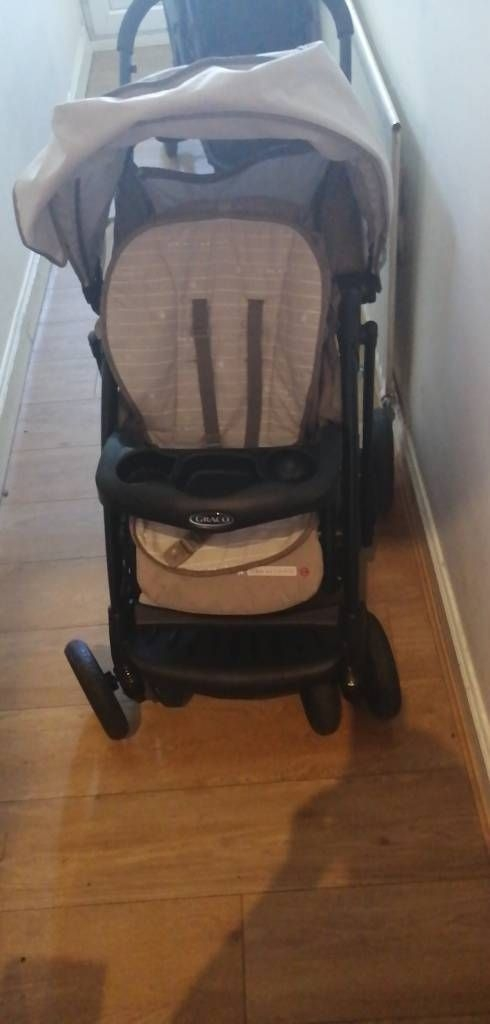 Graco single with raincover