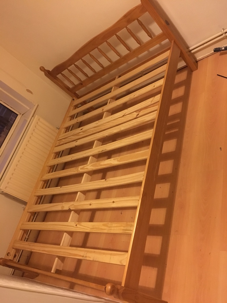 Complete Double bed 140x190