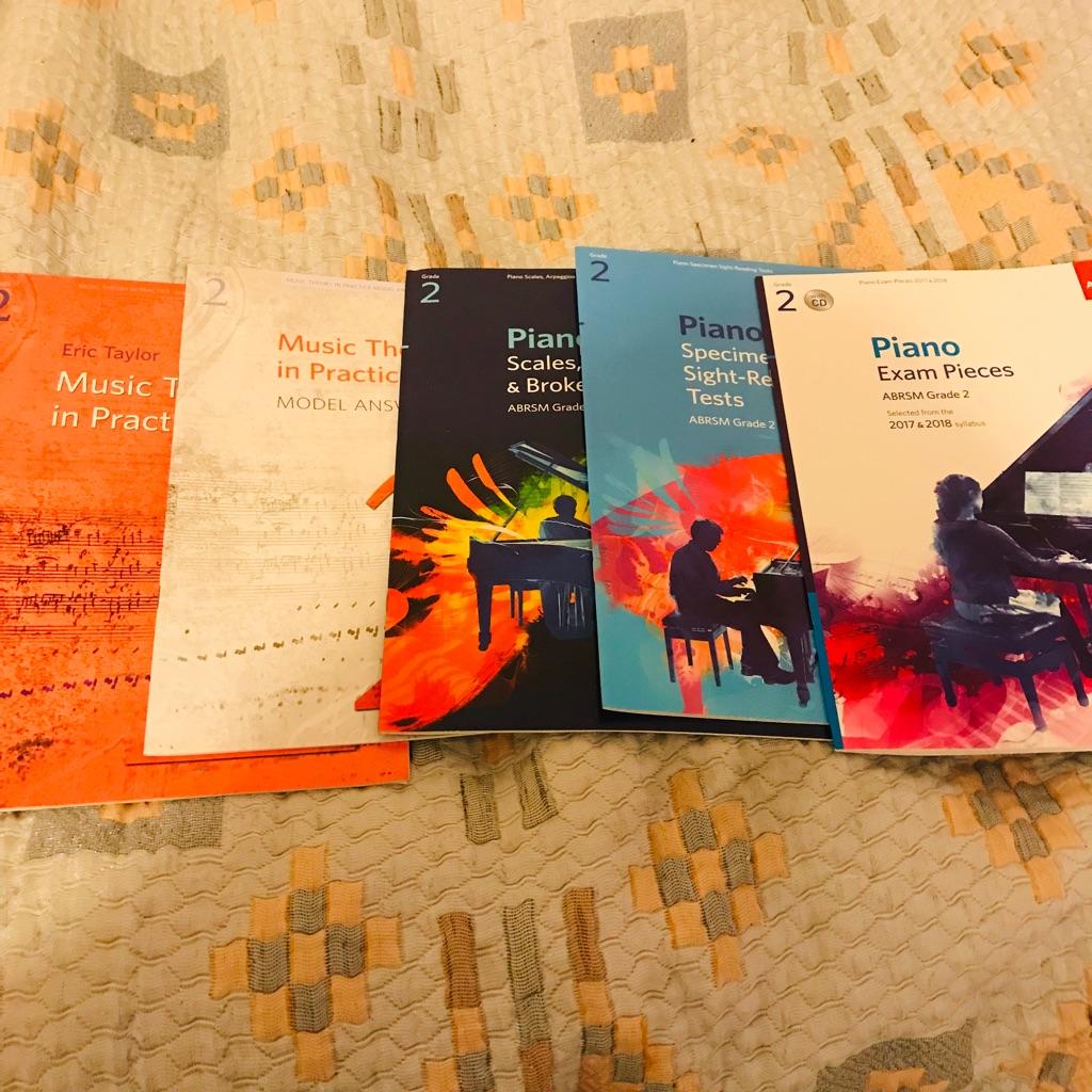 Grade 2 piano books