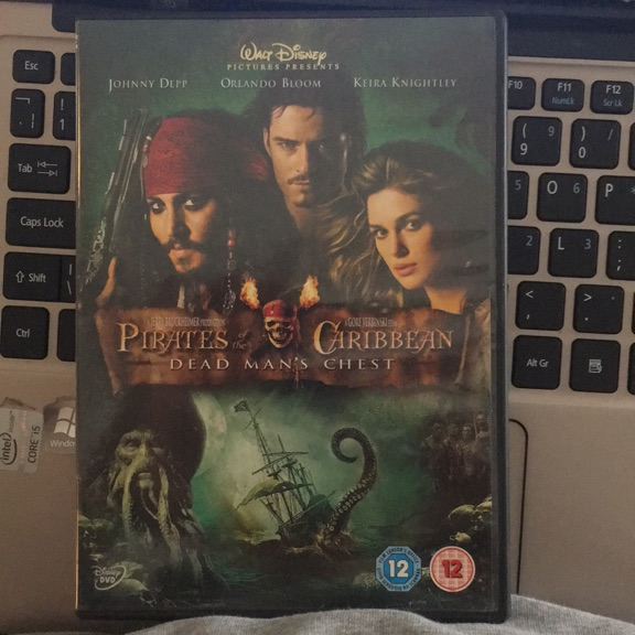 DVD Pirates of the Caribbean 2