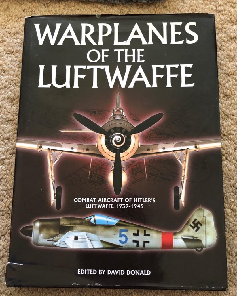 WARPLANES OF THE LUFTWAFFE BOOK