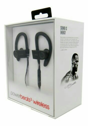 Black Powerbeats3 by Dr. Dre Headphones