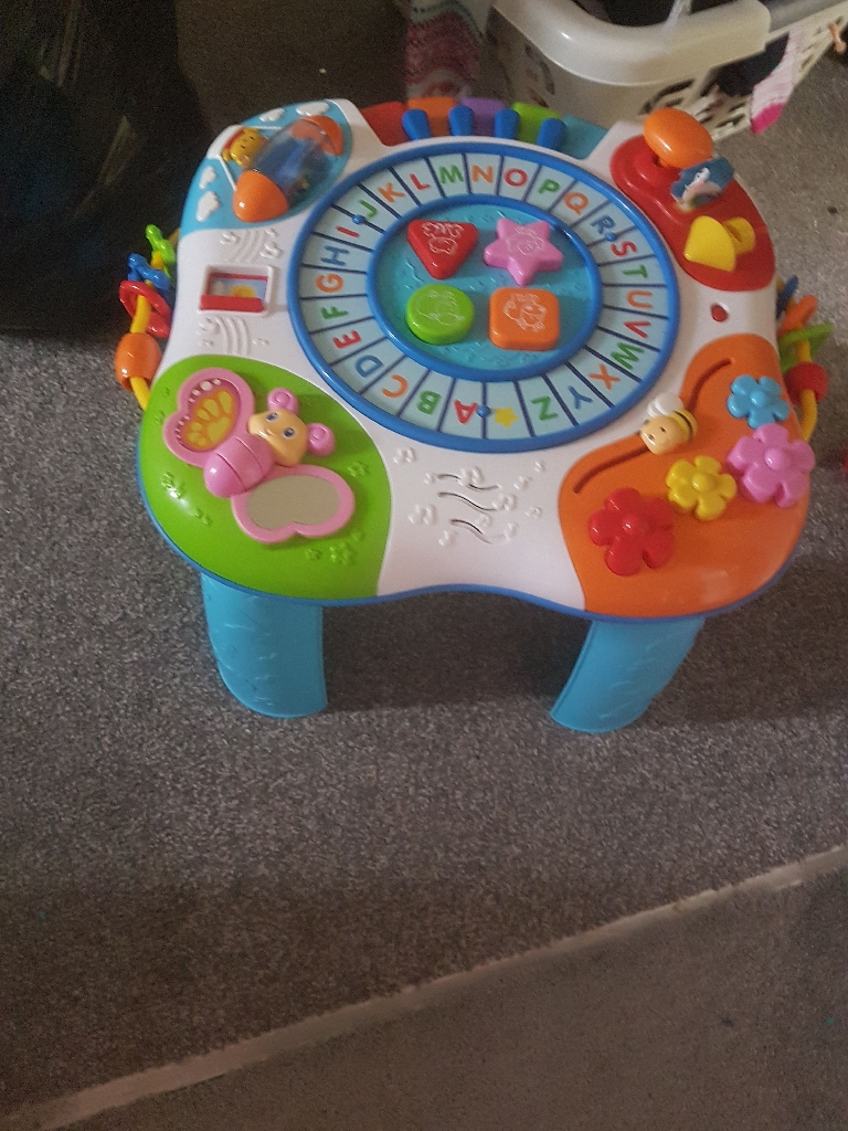 Vtech musical table and walker