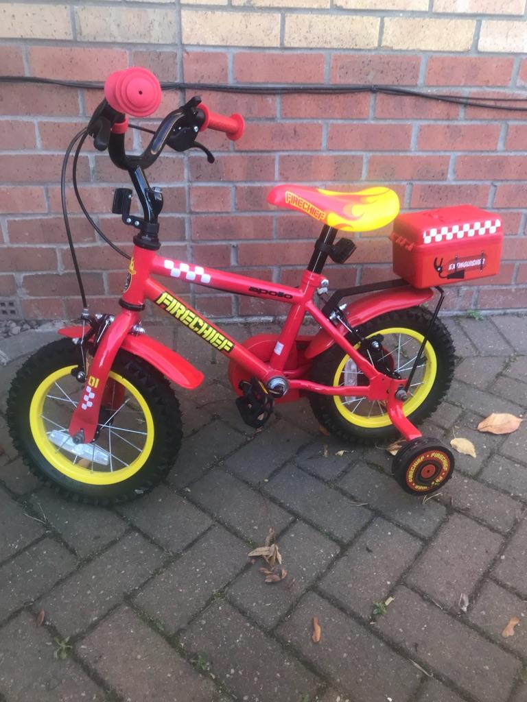 """Apollo fire chief 12"""" bike"""