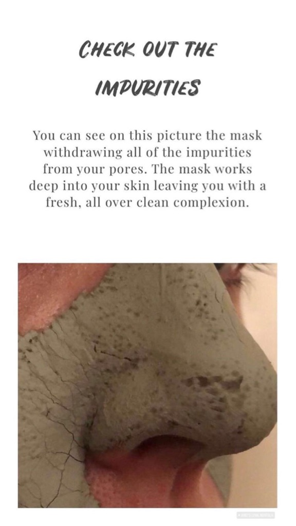Glacier mud mask