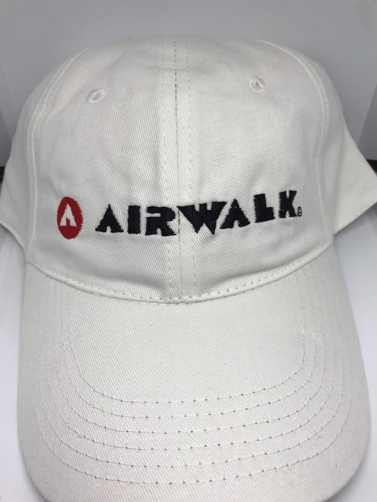 Airwalk Baseball Cap-White