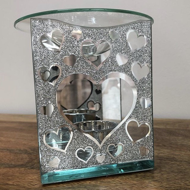 Glitter Heart Oil Burner/Wax Melt