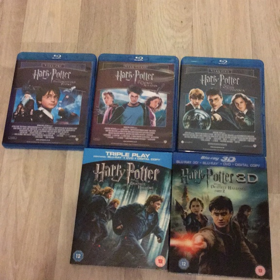Harry Potter (Blu-ray) dvd collection