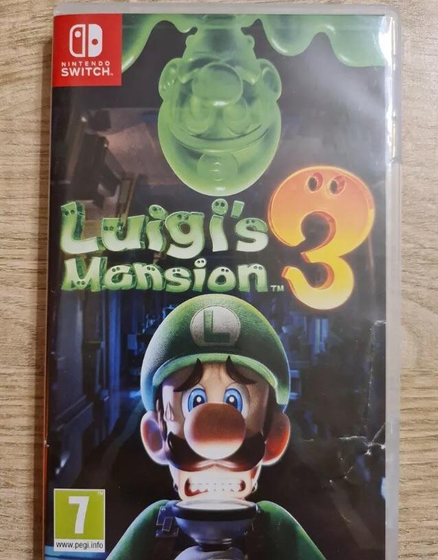 Luigis mansion 3 Nintendo switch game