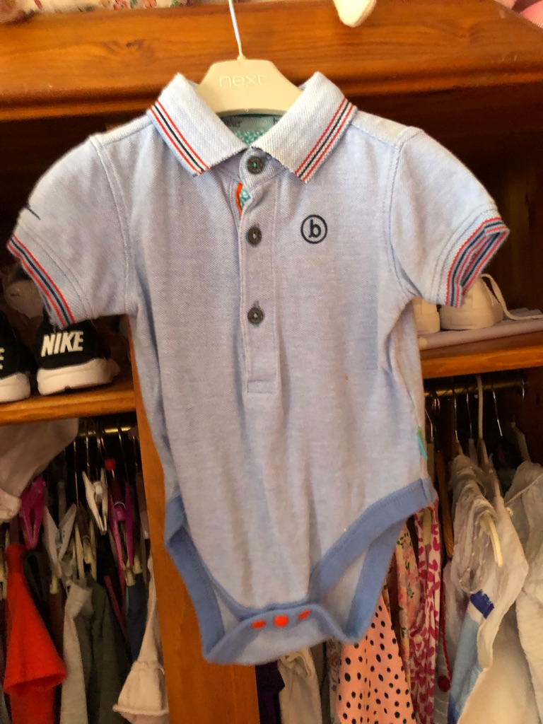 Ted baker boys bodysuit top age 6-9 months