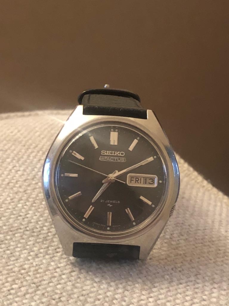 Vintage Seiko 5 Actus  automatic watch