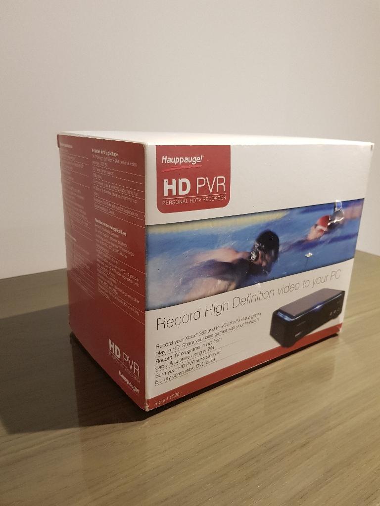 hauppauge hd pvr manual download