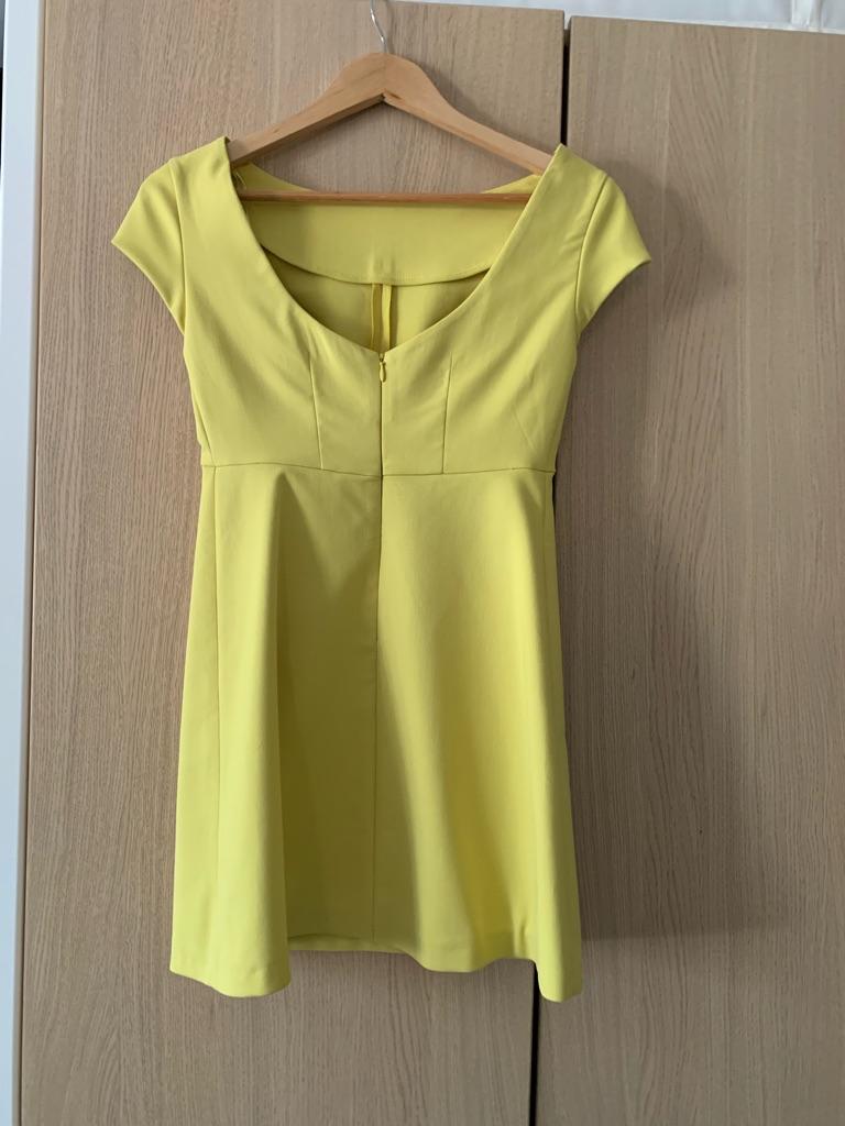 Mini Yellow dress - Zara