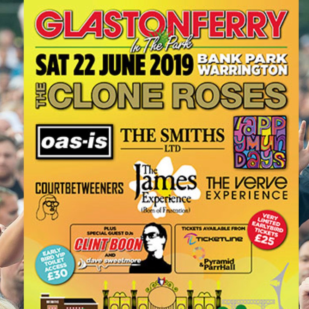 Glastonferry tickets x 2