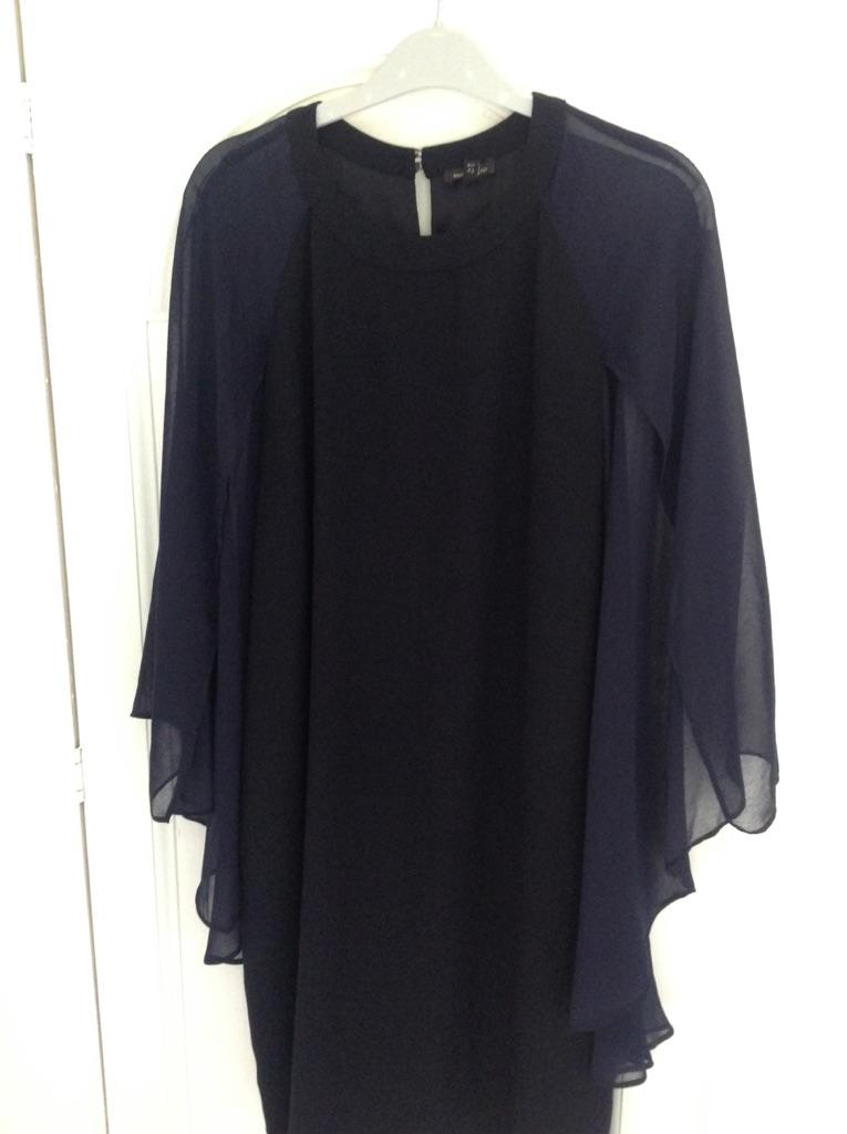 River island cape dress