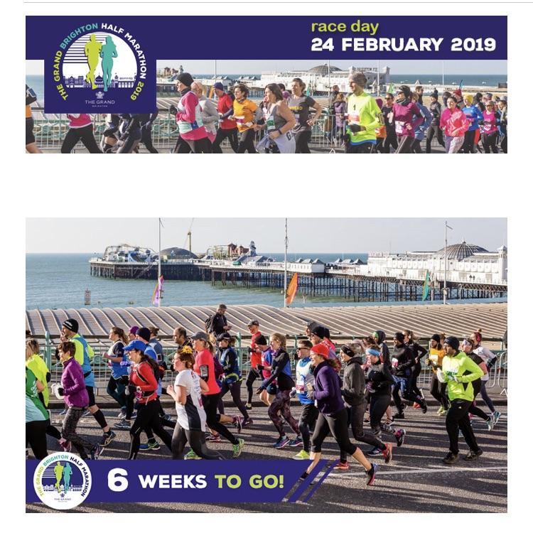 Ticket for The Grand Brighton Half Marathon 2018