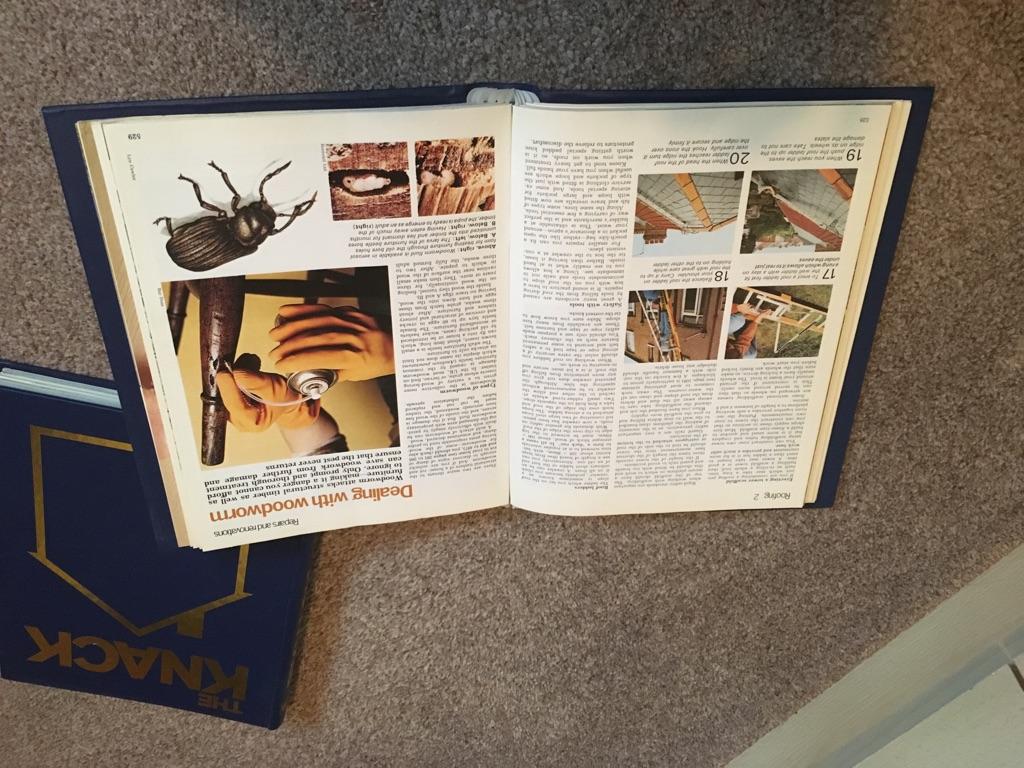 The Knack set of DIY magazines In 7 binders