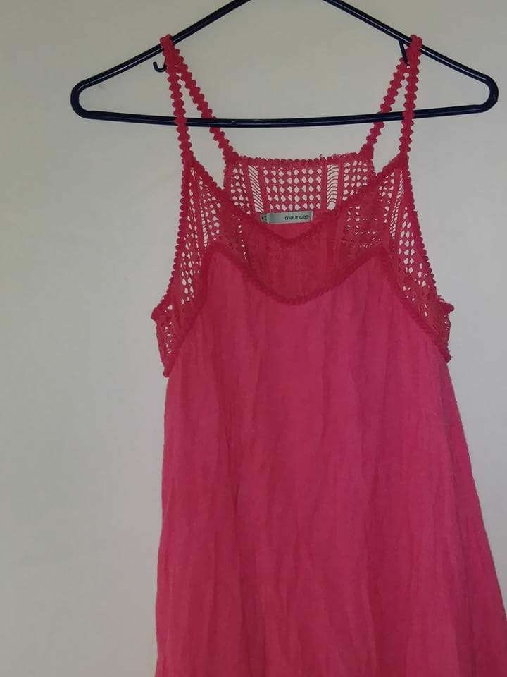 Pink Maurices dress
