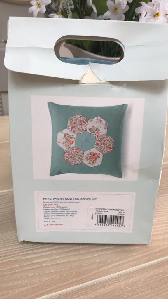 Cath Kidston make your own patchwork cushion kit