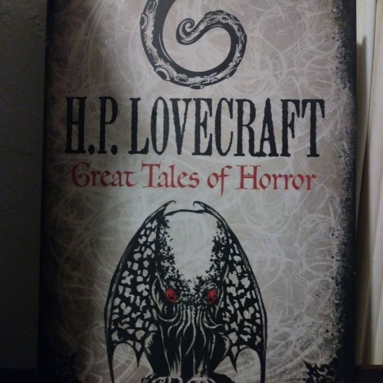 H.P Lovecraft great Tales of horror