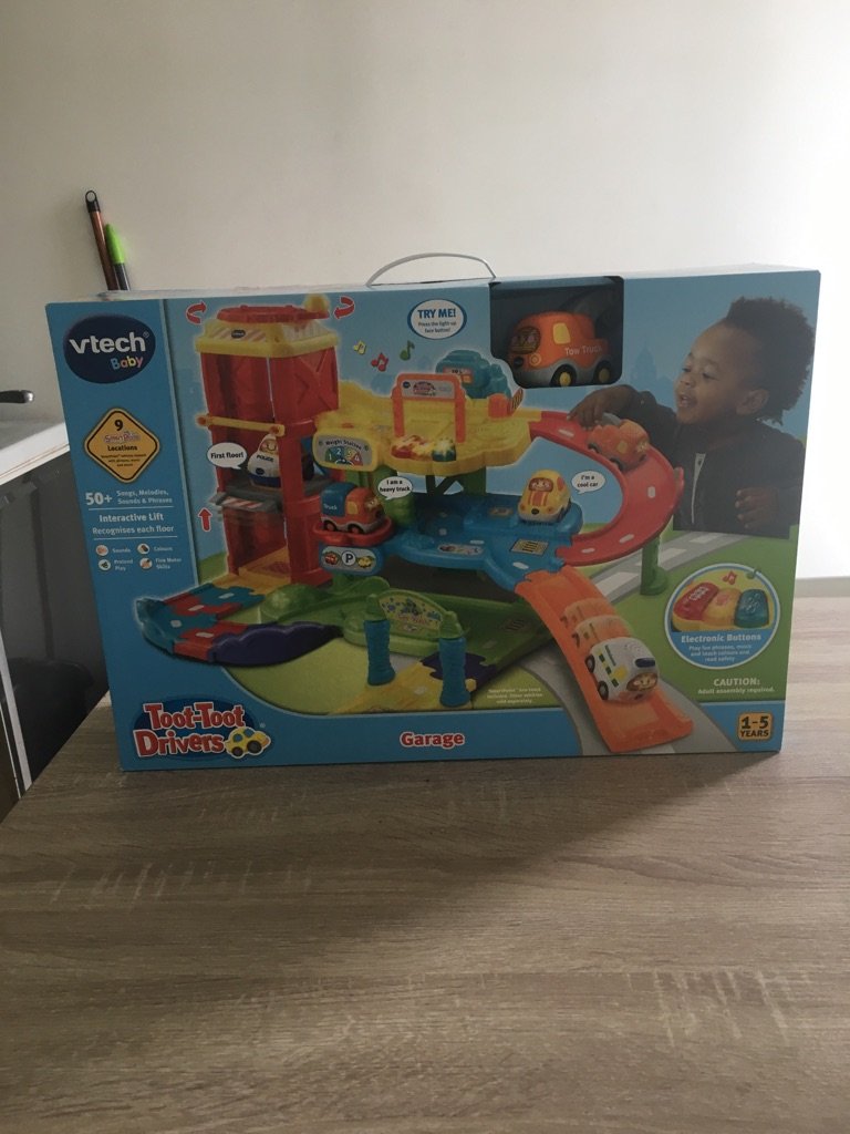 Brand new in box never opened vtech toot toot drivers
