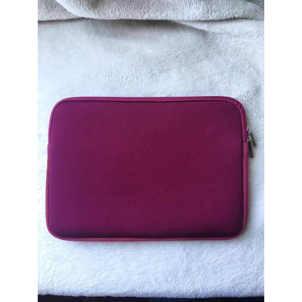 Wine red laptop case 13-14 inch