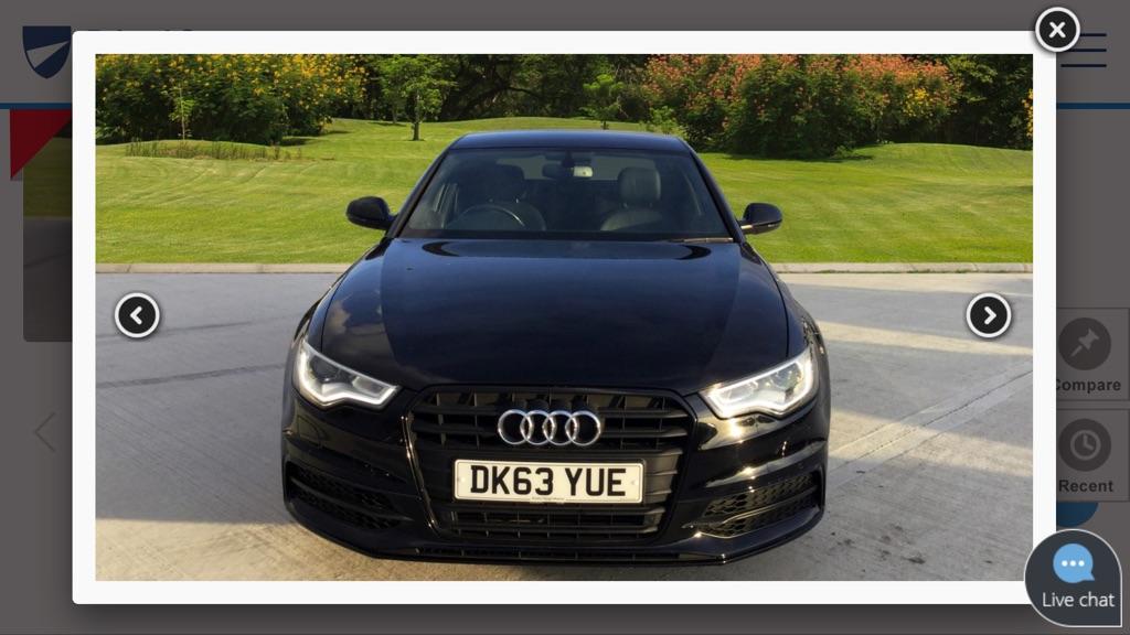 Audi A6 s line limited edition black
