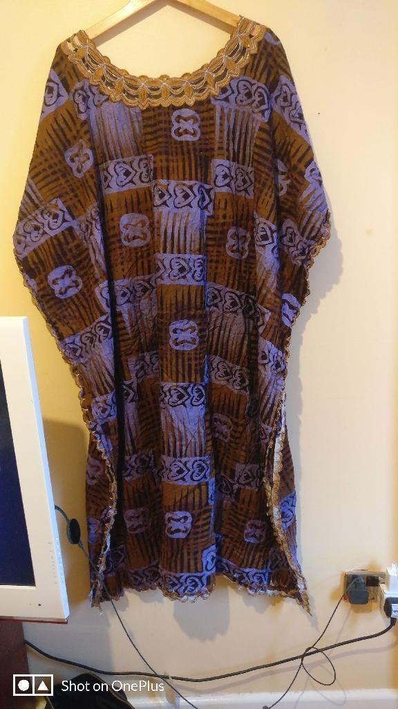 Africa dress 16 uk size