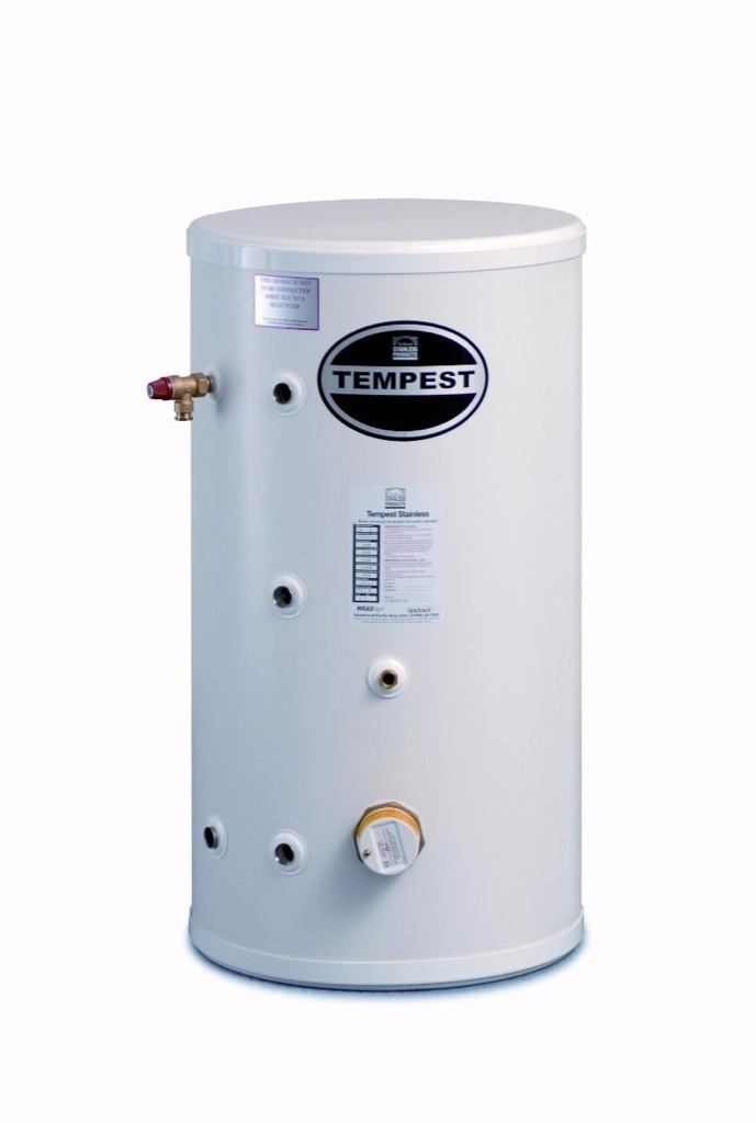 TELFORD Tempest Indirect unvented tank 200lt + expansion vessel