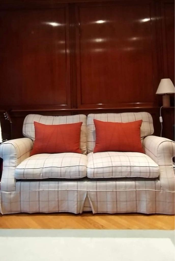 2 seats Laura Ashley sofa bed