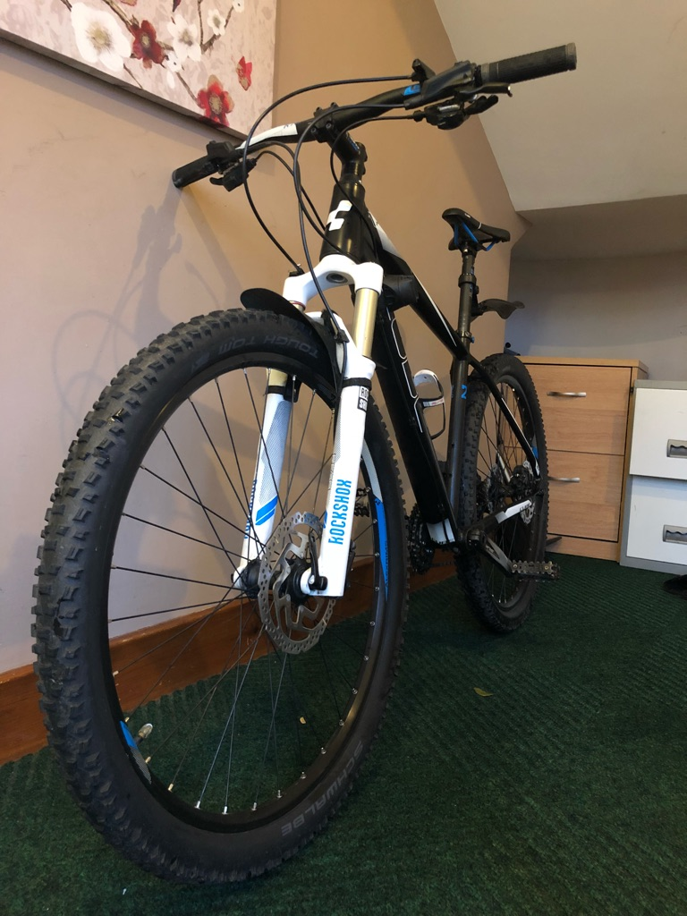 Used Cube LTD Pro 27.5 2015 model Hardtail MTB