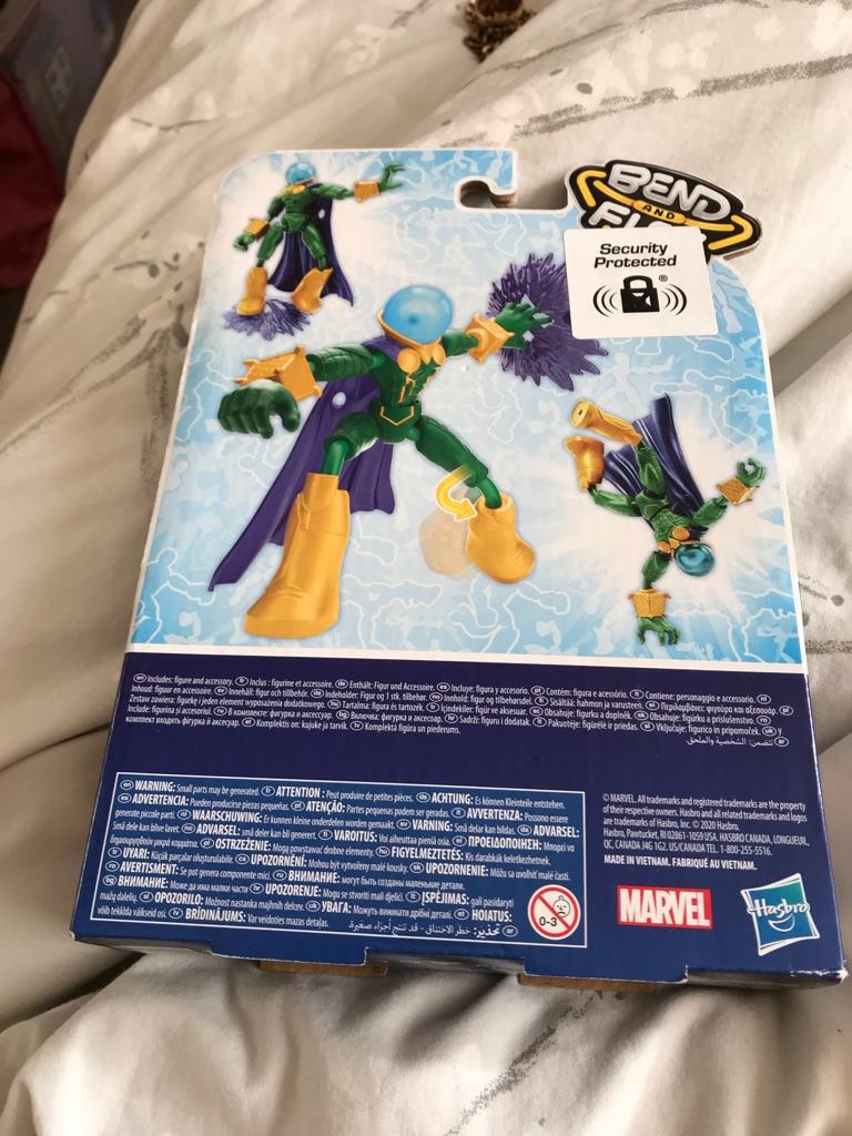 Marvel Spider-Man Bend & Flex Mysterio figure