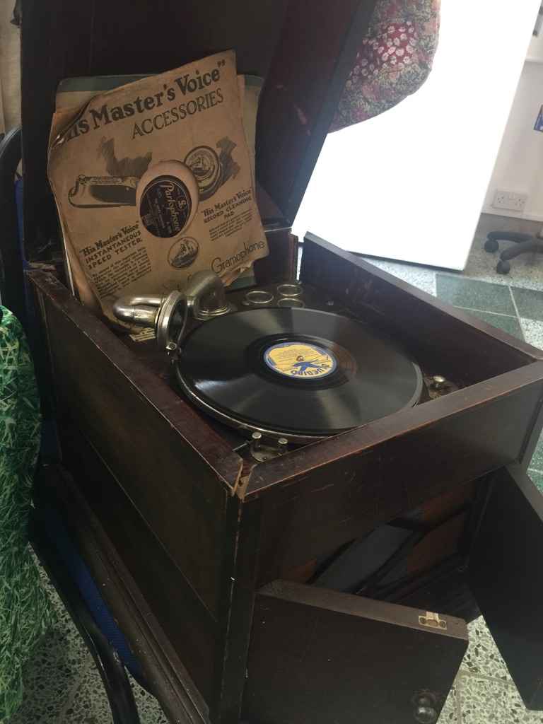 Box Gramophone
