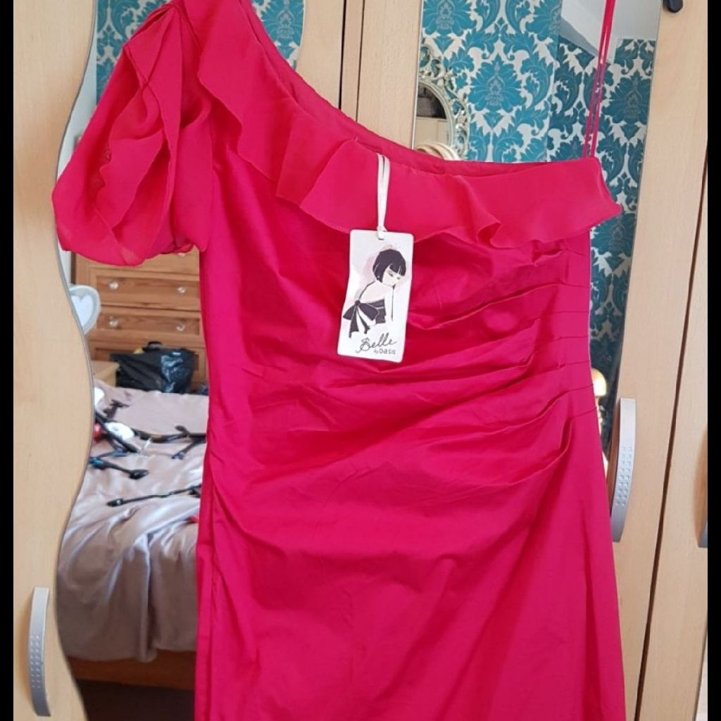 Oasis Cerise Pink New with Tags Dress 14