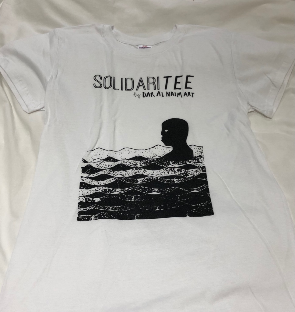 T-shirts to raise money for refugee legal aid!
